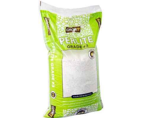 GROW!T #3 Perlite, Super Coarse, 4 cu ft