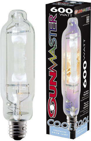 Sunmaster Cool Pulse Start Metal Halide Lamps 600W