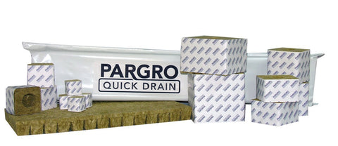 "Pargro Quick Drain Cube, 1.5"", Wrapped, case of 1170"