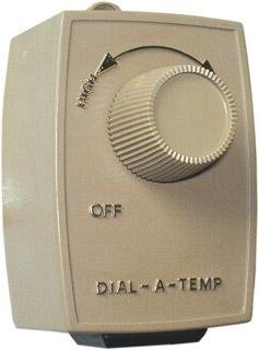 Dial-A-Temp Variable Fan Speed Controller Dual Plug