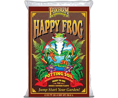 FoxFarm Happy Frog® Potting Soil, 2 cu ft (FL/MO/IN/GA ONLY)