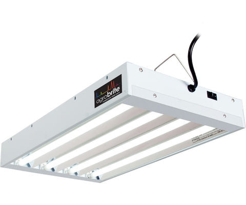 Agrobrite T5 96W 2' 4-Tube Fixture with Lamps