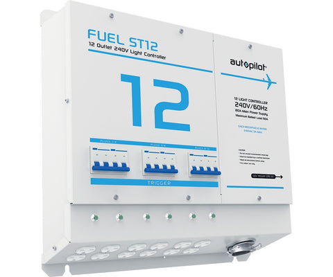 FUEL ST12 Light Controller, 12 Outlet, 240V, with Single Trigger