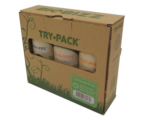 Biobizz Outdoor Trypack Fertilizer 3-pack 250 Ml