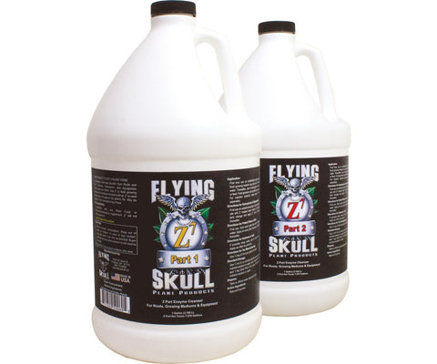 Flying Skull Z7 Enzyme Uptake Genetic Root 1 Gallon part 1 & 2