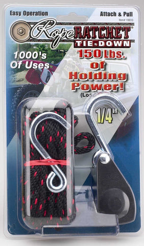 Hydrofarm Heavy Duty Rope Ratchet with 8' Rope