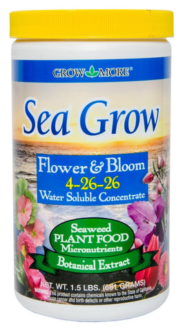 Grow Dark Green Foliage Bloom Fertilizer 1.5 Pound