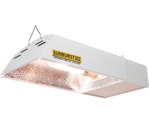 Sunburst Ceramic Metal Halide LED Grow Lamp 120/240V, 315W, 3100K