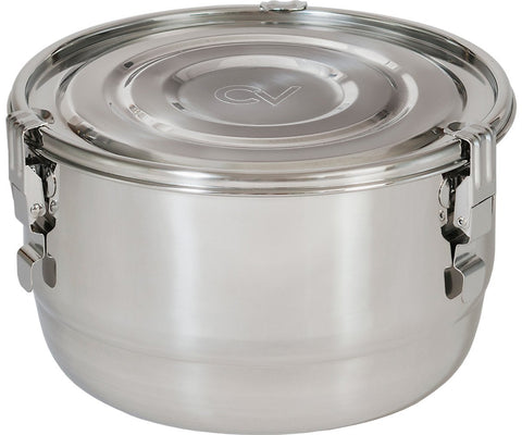 "CVault Humidity Curing Storage Container Pot 9"" x 5.5"""