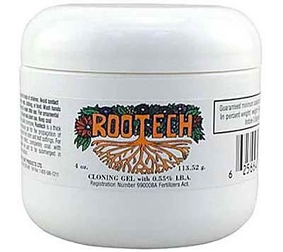 Hydroponic Rootech Cloning Smooth Gel 113.4 g, 4 oz