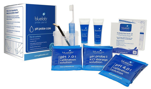Bluelab Conductivity Calibrate Probe Care Kit Plants Clear
