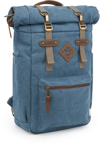 Revelry Supply The Drifter Rolltop Backpack, Marine