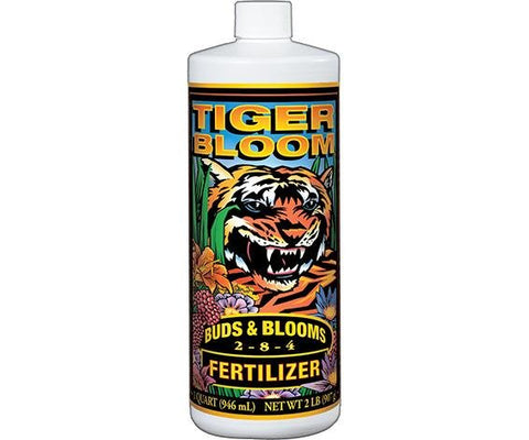 Foxfarm Tiger Bloom Liquid Hydroponics Nutrients 1qt