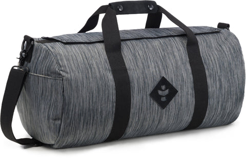 Revelry Supply The Overnighter Small Duffle, Striped Black
