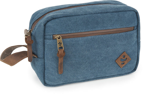 Revelry Supply The Stowaway Toiletry Kit, Marine