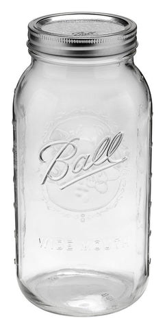 64 Oz Bands Wide Ball Jar Mouth Case of 6