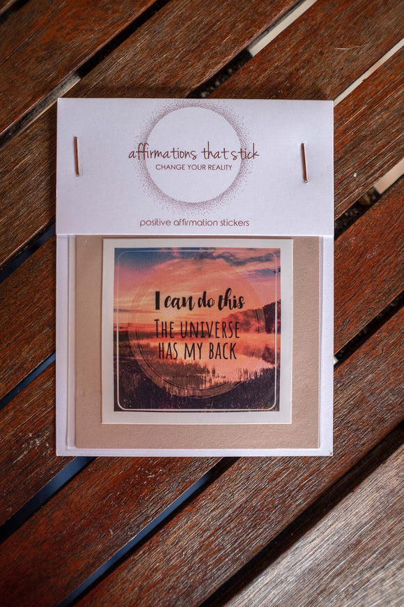 I Can Do This Affirmation Sticker-Affirmations That Stick CA