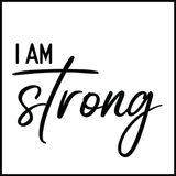 I Am Strong Affirmation Tattoo-Affirmations That Stick CA