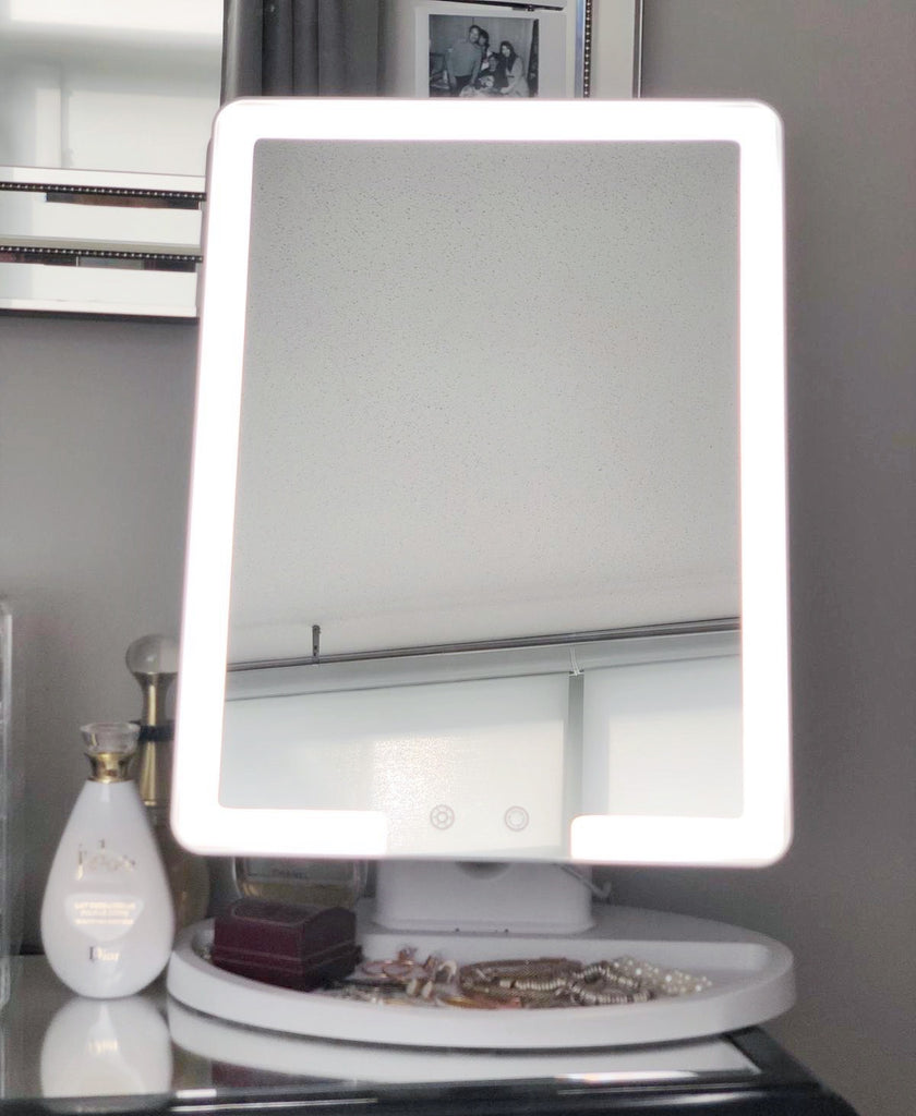 Small Makeup Mirror Vanity LED Lights
