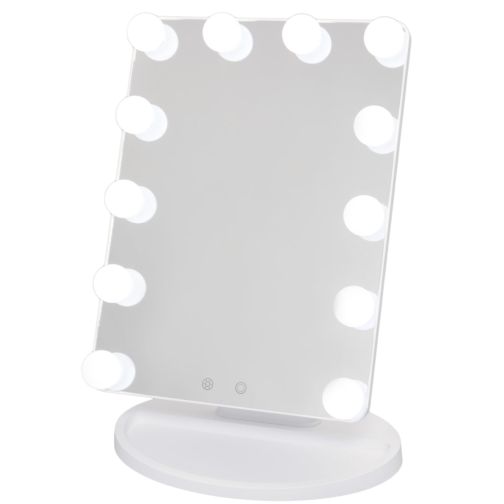 Small Makeup Mirror Vanity Hollywood LED Lights