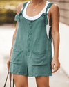 Sweet Button Front Romper