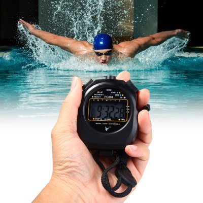 PC894 Electronic Stopwatch Large Scale Digital Running Timer Chronograph Counter Professional Sports Stop Watc......