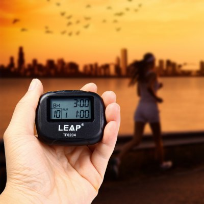 LEAP TF6204 Utility Interval Timer for Yoga Hiit Cardio Tabata with LCD
