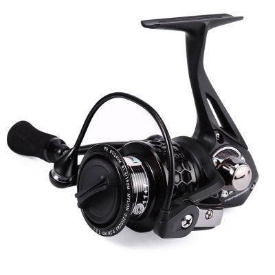 TSP2000 Trulinoya 12BB Metal Aluminum Spinning Fish Reel with Spare Spool Fishing Tackle