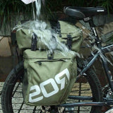 Roswheel 37L Water Resistant Durable 3 in 1 Bicycle Rear Pannier Bag