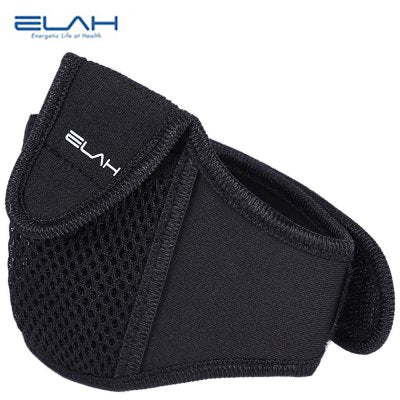 ELAH Outdoor Portable Pedometer MP3 Arm Shank Bag for Cycling Running Gym Jogging