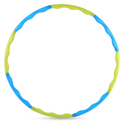 Lightweight Hula Hoop Detachable Ring Tube Circle for Waist Slimming