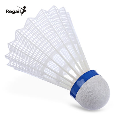 REGAIL 500 6pcs / Set Gym Exercise Training Nylon Badminton Ball
