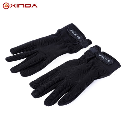 XINDA Paired Outdoor Breathable Rock Climbing Cycling Full Finger Gloves