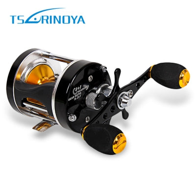 TSURINOYA Portable Bait Casting 5:2:1 Right Left Hand Drum Fishing Reel