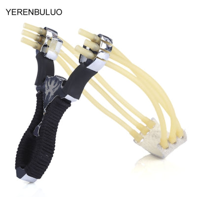 YERENBULUO Outdoor Hunting Stainless Steel Catapult