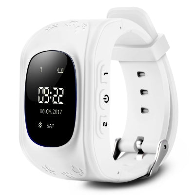 Q50 Children OLED Display GPS Intelligent Watch Telephone