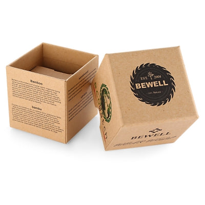Bewell Wristwatch Box Paper Material Case for Watch