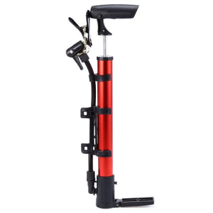 Portable Aluminum Bicycle Ball Tire Hand Air Pump High Pressure Inflator