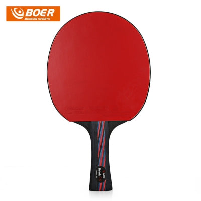 BOER Lightweight Table Tennis Ping Pong Racket Paddle