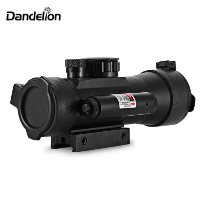 Dandelion 2 x 42 Red Green Dot Laser Illuminated Telescope