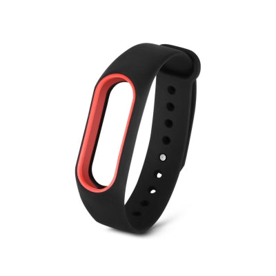 Wristband for Xiaomi Mi Band 2 Color Blocking Anti-lost Design