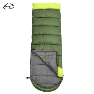 WIND TOUR Hand Unbound Thickening Envelope Style Sleeping Bag for Adults