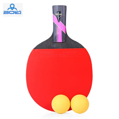 BOLI Three Star Table Tennis Ping Pong Racket Set with Ball