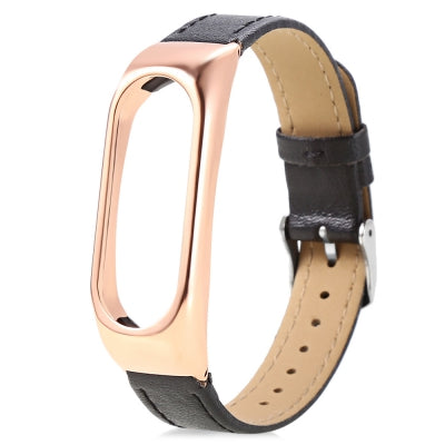14mm Leather Strap for Xiaomi Mi Band 2