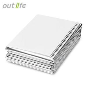 Outlife 210 x 160CM Emergency Survival Mylar Thermal Blanket