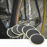 DUUTI 6pcs Bike Tire Tube No-glue Rubber Patch with File