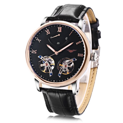 GUANQIN GJ16046 Male Auto Mechanical Watch