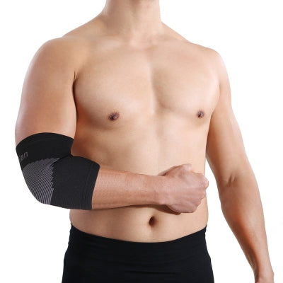Mumian A21 Classic Black Elbow Sports Elbow Sleeve Brace - 1PCS