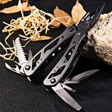 Ganzo G104 Multifunctional Folding Pliers with 10pcs Screwdriver Bits