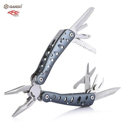 Ganzo G101-H Multifunctional Folding Pliers with 10pcs Screwdriver Bits